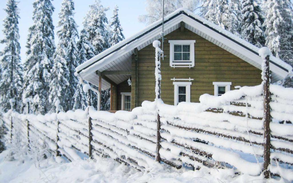 Villa Valo talvella