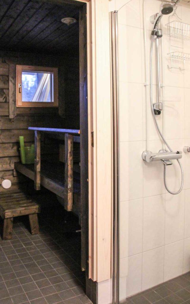 Ilonan sauna ja pesuhuone