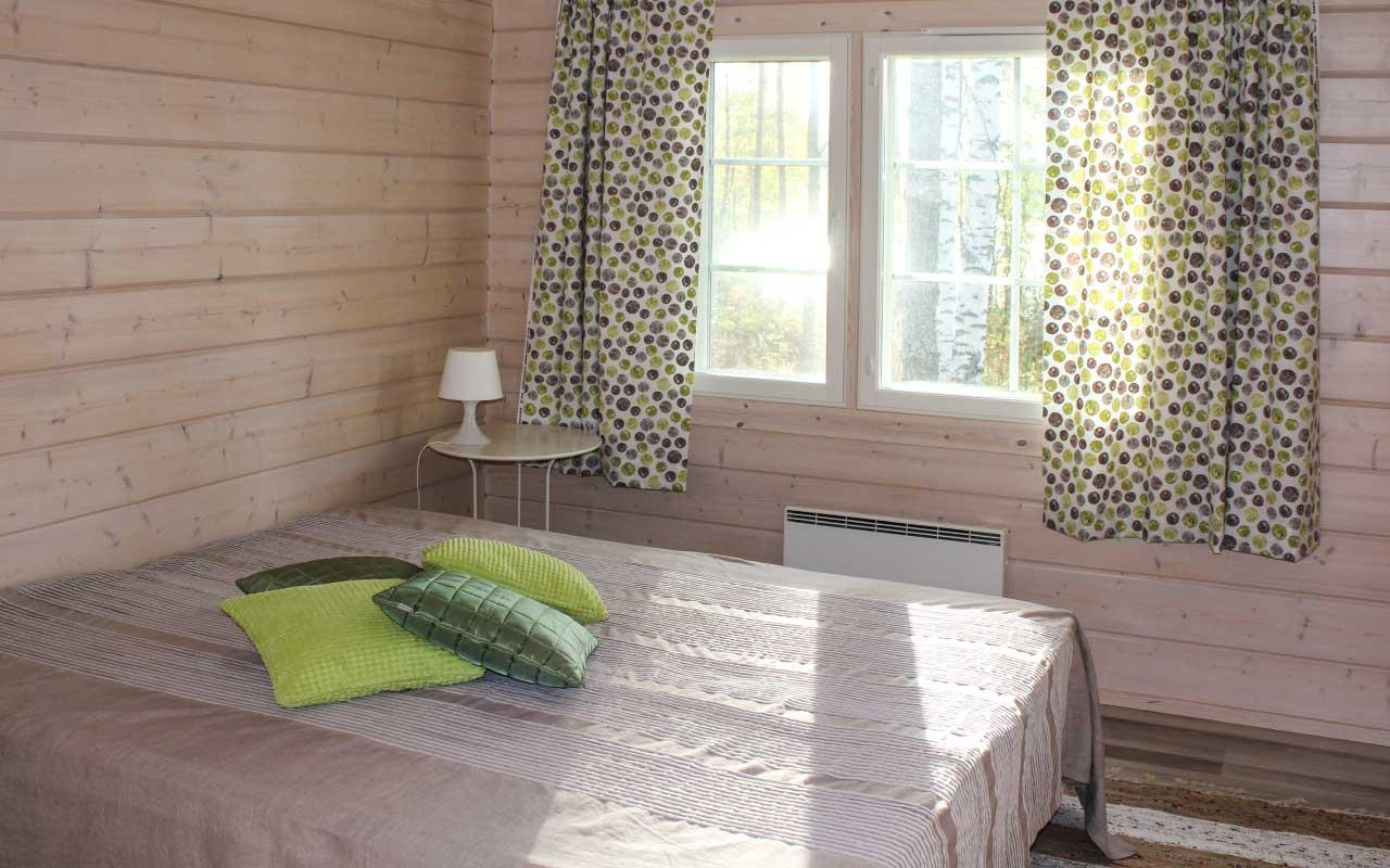 Villa Hiljan makuuhuone