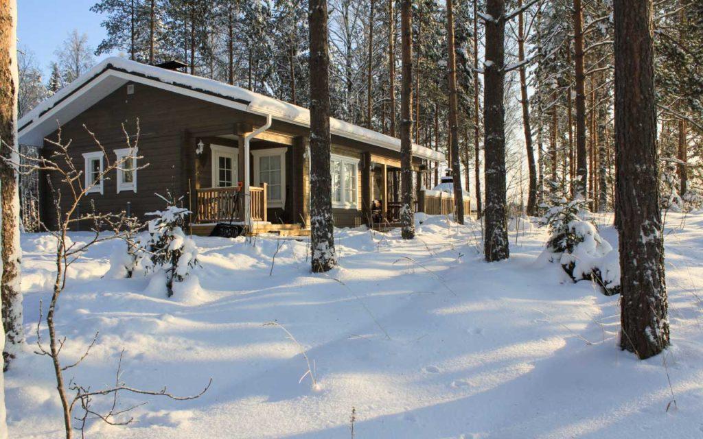 Villa Hilja talvella